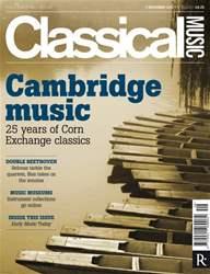 Classical Music issue Classical Music 3rd Dec 2011