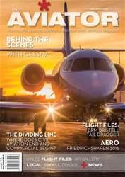 Aviator issue Jul-16