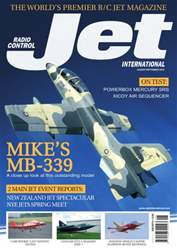 Radio Control Jet International issue Aug/Sep 2016