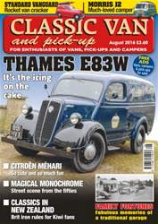 Classic Van & Pick-up issue Vol. 16 No. 10 - Thames E83W