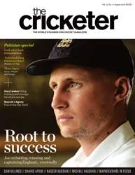 The Cricketer Magazine issue August 2016