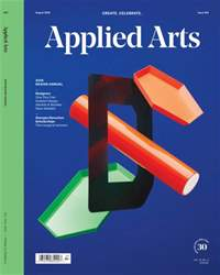 Applied Arts issue July/August  2016 - Design Annual