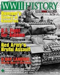 WW2 History Magazine issue August 2016