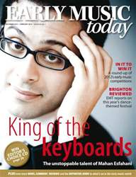 Early Music Today issue Dec-Jan 2012