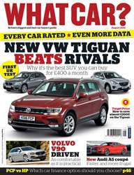 What Car Magazine issue August 2016
