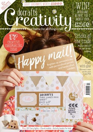 docrafts® Creativity issue July 2016