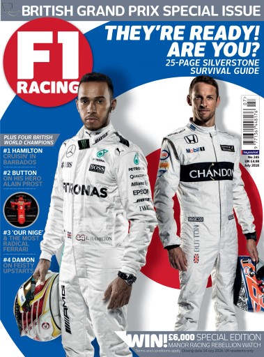 F1 Racing issue July 2016