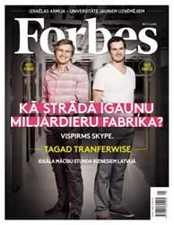 Forbes Latvija #71 issue Forbes Latvija #71