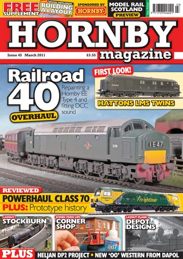 Hornby Magazine issue March 2011