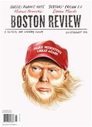 Boston Review issue July/August 2016