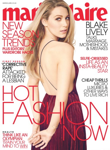 Marie Claire issue August 2016