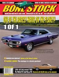 Bone Stock issue Summer 2016