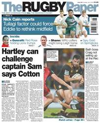 The Rugby Paper issue 3rd July 2016