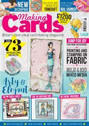 Making Cards issue August 2016