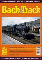 Backtrack issue August 2016