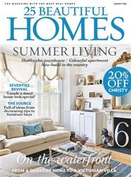 25 Beautiful Homes issue August 2016