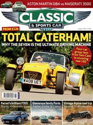 Classic & Sports Car issue August 2016