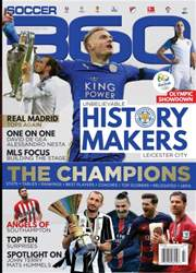 Soccer 360 issue July/Aug 2016 ISSUE 64