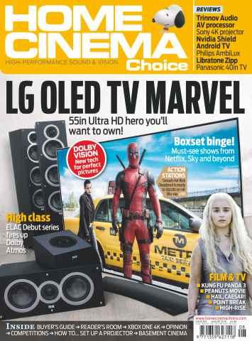 Home Cinema Choice issue Aug 2016