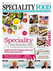 Speciality Food issue Jul/Aug 16