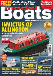 Model Boats issue August 2016