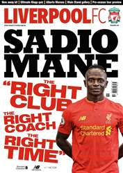 Liverpool FC Magazine issue AUG 16