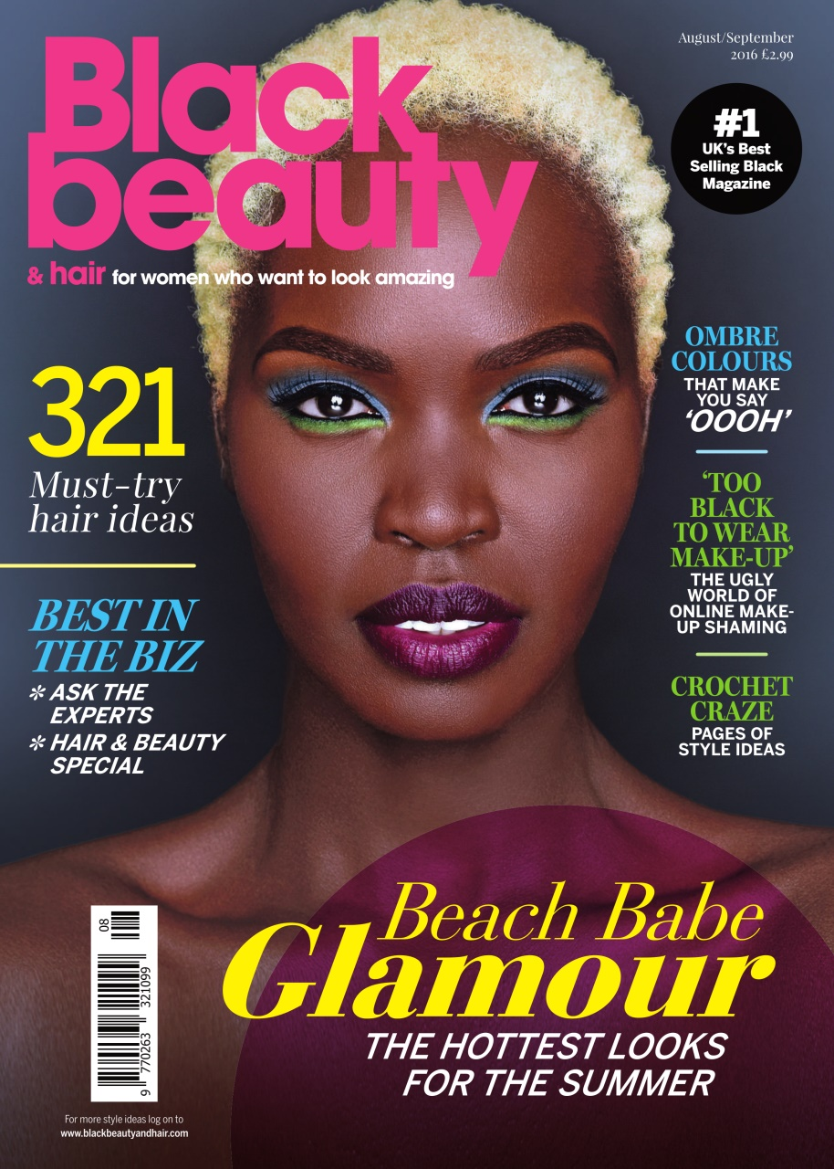 magazine beauty hair covers title subscriptions blob august september issue inside