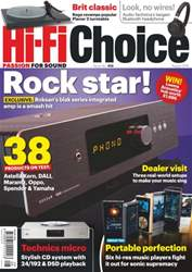 Hi-Fi Choice issue August 2016