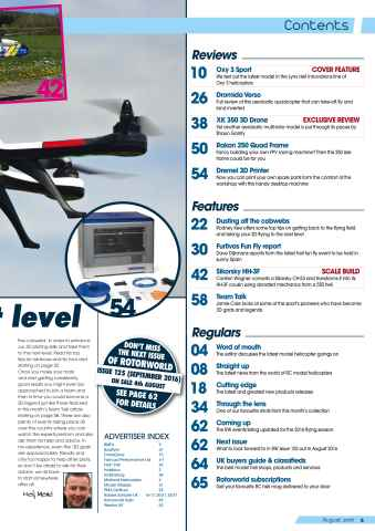 Radio Control Rotor World Preview 5