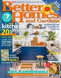 Better Homes and Gardens Australia issue September 2016