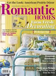 Romantic Homes issue August 2016
