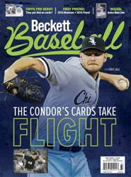 Beckett Baseball issue August 2016