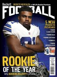 Beckett Football issue August 2016