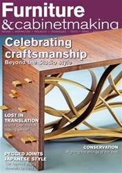 Furniture & Cabinetmaking issue August 2016