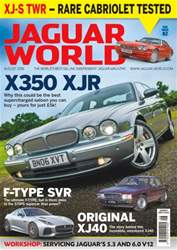 Jaguar World issue No. 174 - X350 XJR