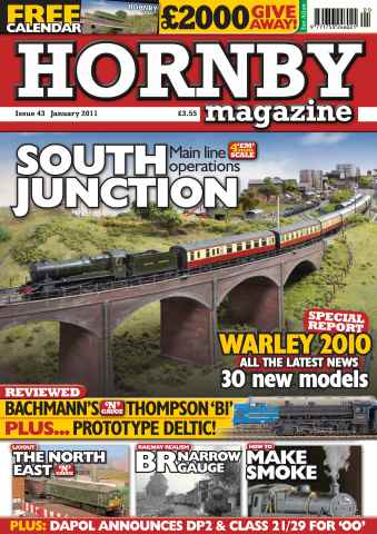Hornby Magazine issue January 2011