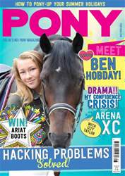 Pony Magazine issue PONY magazine –  August 2016