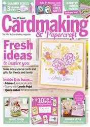 Cardmaking & Papercraft issue August 2016