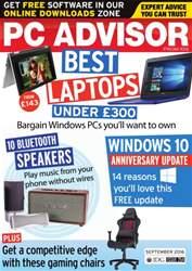 PC Advisor issue September 2016