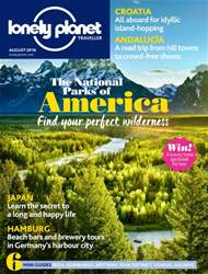 Lonely Planet Traveller (UK) issue August 2016