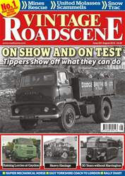 Vintage Roadscene issue No. 201 - On Show And On Test