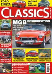 Classics Monthly issue No. 245 - MGB Resurrection