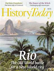 History Today issue August 2016