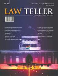 Lawteller – A Legal Awareness Magazine issue July 2016