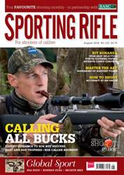 Sporting Rifle issue Sporting Rifle August 2016