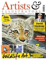 Artist & Illustrators issue August 2016