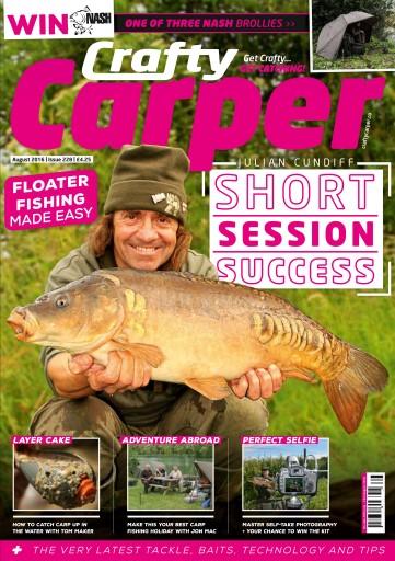 Crafty Carper issue Crafty Carper August 2016