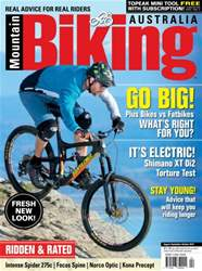 Mountain Biking Australia issue Aug/Sep/Oct 2016