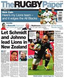 The Rugby Paper issue 10th July 2016