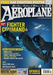 Aeroplane issue August 2016